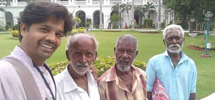Snehan beneficiaries were happy to be with Pondicherry Governor