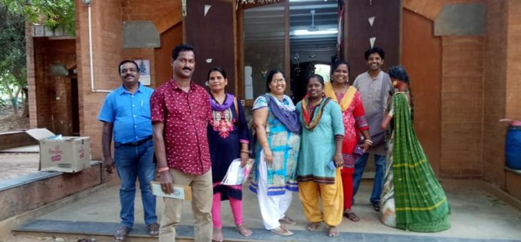 Social change makers from Odisha visited Snehan project