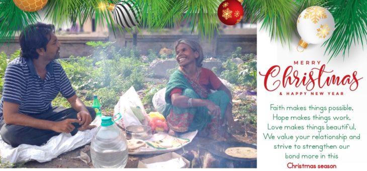 Christmas brings joy and blessings