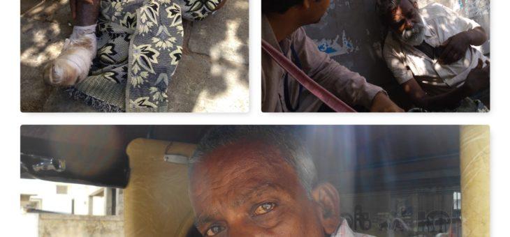 Street dweller Rajendran rehabilitated back home