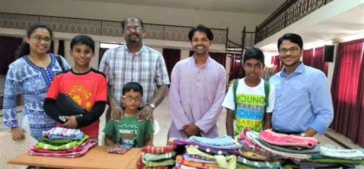 Sharing about Snehan, to CSI Church and sold Eco-friendly cotton bags