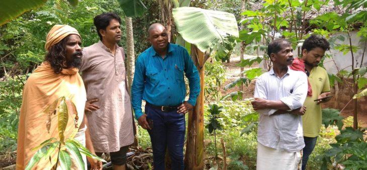 Natural Farming Training for kanthari's
