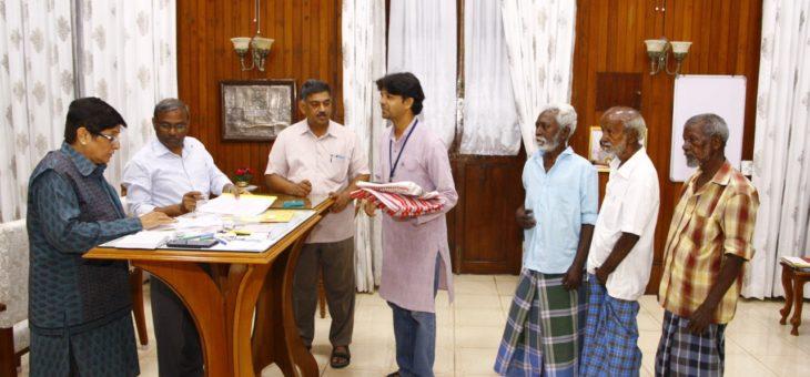 Snehan beneficiaries were happy to meet Dr. Kiran Bedi