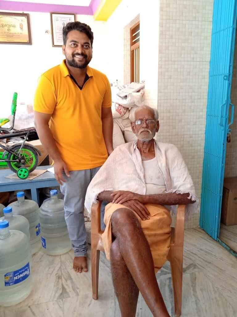 Lingala naresh with venkatapathy reddiar